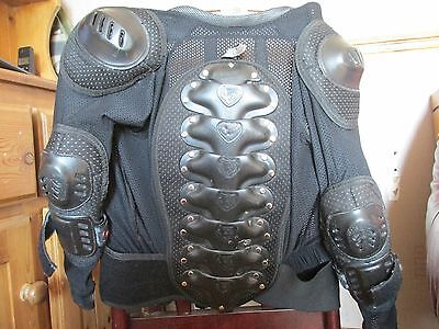 childs motocross wulf body armour 8/10 years