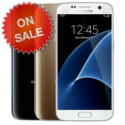 Samsung Galaxy S7 | Choose Carrier: (Factory Unlocked, Tmobile, AT&T GSM) 32GB
