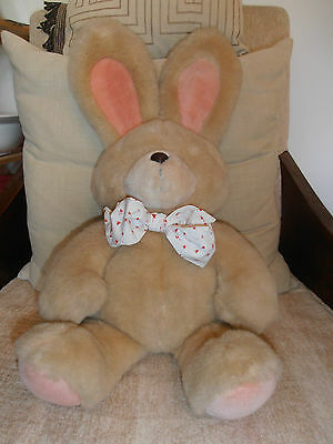 Stunning Vintage Large Bunny by Andrew Brownsword/Forever Friends 28 inch, Rare.