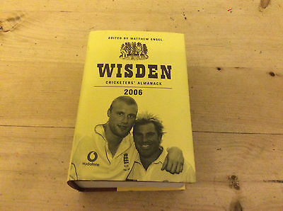 Wisden 2006 Cricketers Almanack Hard Back FREE P&P UK