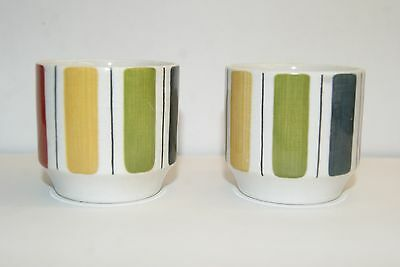 Vintage 1960's Jessie Tate Design Midwinter Pair of Egg Cups.