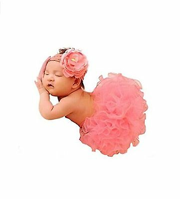 Newborn Baby Photography Prop CiaraQ's Girl Tutu Skirt with Headband Outfits ...