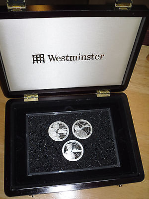 British Armed Services - Proof Silver Coins 2011. Boxed Presentation Set