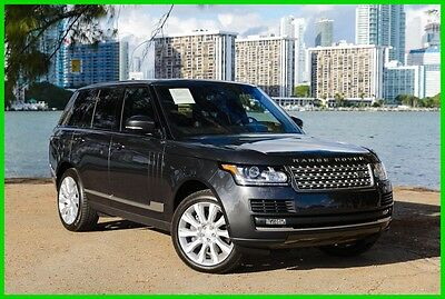 2016 Land Rover Range Rover 5.0L V8 Supercharged 2016 5.0L V8 Supercharged Used 5L V8 32V Automatic 4WD SUV Premium Moonroof
