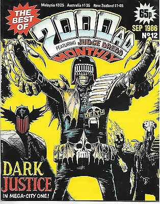 "Best of 2000 AD Monthly #12 (1986) Robo-Hunter + ""Judge Death Lives"" by Bolland"