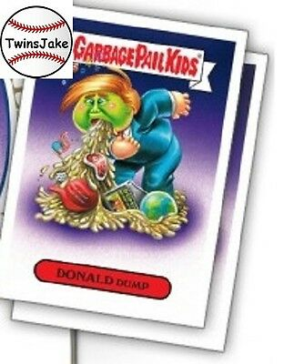 """Topps Comics GPK #2: """"2017 Presidential Inaug-Hurl Ceremony of Donald Stickers"""