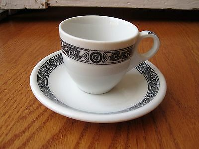 One Shenango China Demitasse Cup and Saucer