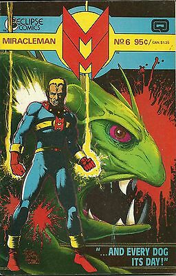 Miracleman(Eclipse) # 6     FREE SHIPPING !