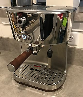 Krups XP4600 Silver Art Espresso Machine LN