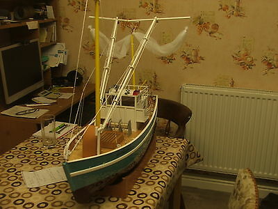 radio controlled boat little used
