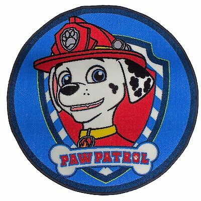 Paw Patrol Pawsome Floor Rug Kids Bedroom Decor Official New Marshall