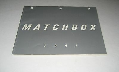 Matchbox  1987 Toy Fair Toy Catalog Cars Trucks Robotech
