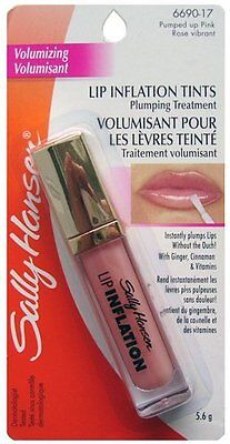 Sally Hansen Lip Inflation Plumping Treatment - 6690-17 Pumped Up Pink Rose