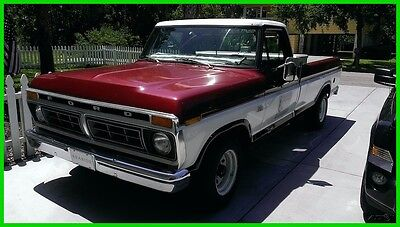 1976 Ford F-100  1976 Ford F-100 Used Automatic Pickup Truck F100