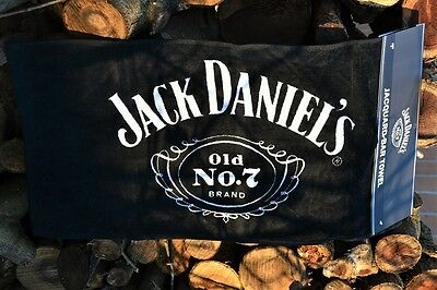Jack Daniels Old No. 7 Cartouche Bar Towel - Game Room - Pub - Tennessee Whiskey