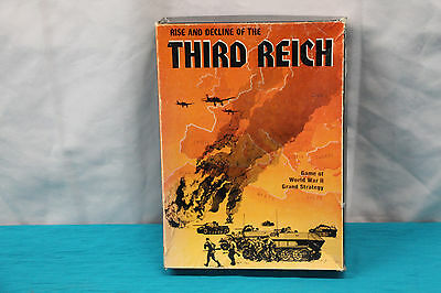 The Rise and Decline of the Third Reich 1974 World War II Game Set