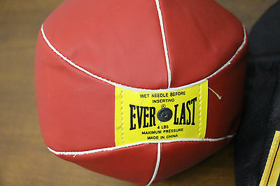 Everlast Training Gloves with Red Speed/TPunching Bag Workout Exercise Equipment