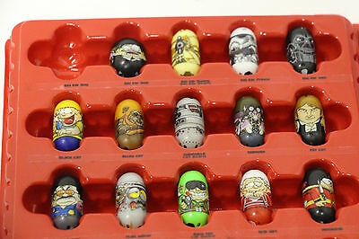 Lot of 14 Mighty Beanz Darth Vader Wicket Han Solo Guard Can Police Yoyo Droid