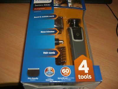Philips Series 3000 Multigroom - 4in1Tools-Beard and Stubble Trimmer (Brand New)