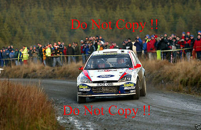 Colin McRae Ford Focus RS WRC 02 Rally GB 2002 Photograph 2