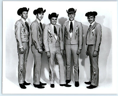 BILLY PARKER & BAND Vintage OKLAHOMA DJ Publicity Photo COUNTRY MUSIC