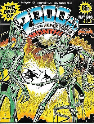Best of 2000 AD Monthly #8 (1986) Nemesis/Rogue/Judge Dredd/Moore's DR & Quinch