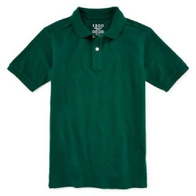IZOD Hunter Green Uniform Polo - Size 5 Medium