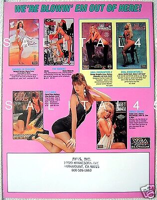 Flyer Ad Savannah 4 Page Vca Promotional Graphic Art Print Slick Shannon Wilsey