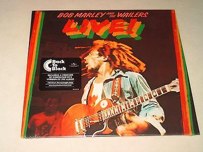 Bob Marley And The Wailers - Live! - Lp Vinyl 180G New & Sealed N849