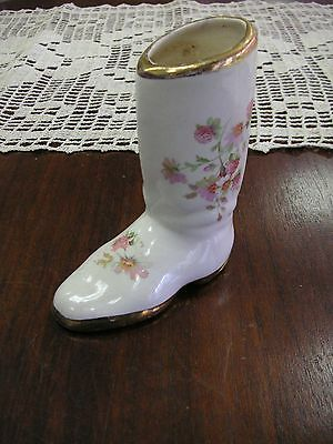 "Porcelain Boot 5"" x 4 1/4"" Sold in As/Is Condition - Holiday Bargains #131"