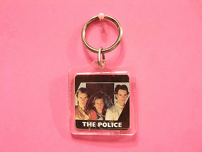 """The Police Small Vintage Key Ring Us Made Keyring """"group"""""""