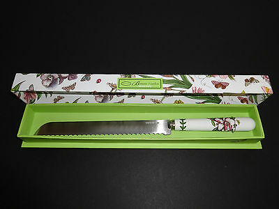 New PORTMEIRION Bread Knife Botanic Garden