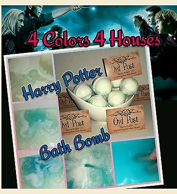 Harry Potter the Sorting Hat Bath Bomb  -1x Lush assorted scent intensive color