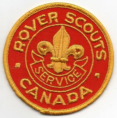Vintage Rover Scout Service Canada patch