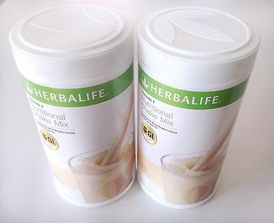 2x Herbalife Formula 1 Nutritional Shake Mix 560g each Weigh Loss Aus Stock 2018
