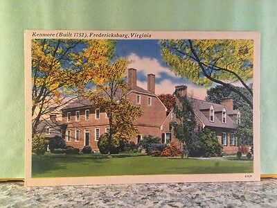 Postcard Kenmore, For Bettie Washington, Fredericksburg,va