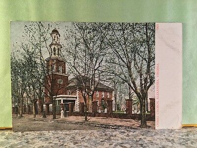 Postcard Christ Church, Alexandria, Virginia