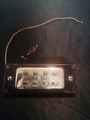 Vintage Bass Neck Pickup and screws from 1960s Made in Japan Greco,Kent ?? 3.19K