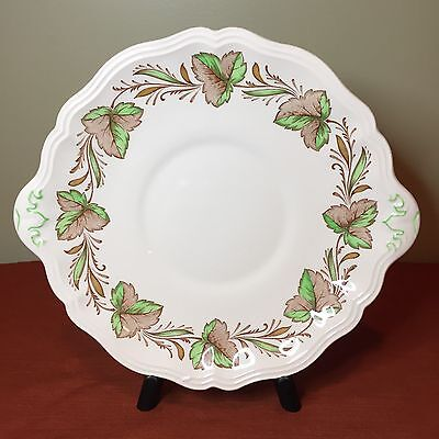 Rare Royal Doulton Hereford Cake Plate - D6165 - Made in England