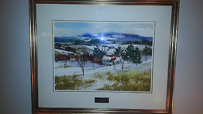 Original Painting by Pierre Tougas Canadian artist (Quebec) made in 1991