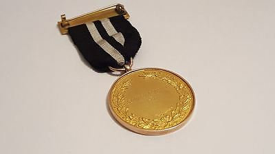 Rare 9ct 1939 Southern Railway Centre of St John Ambulance Assoc 21 Years Medal