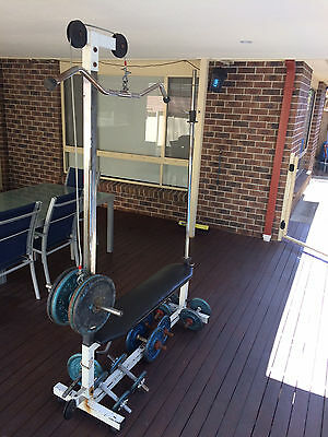Gym Weights Bench Bars