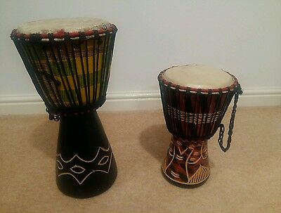 African djembe drums (Made in Ghana)