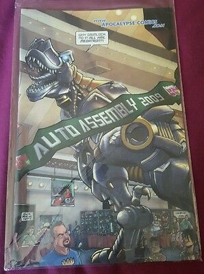 Transformers Comic All hail Megatron #13 Auto Assembly Congress cover 2009