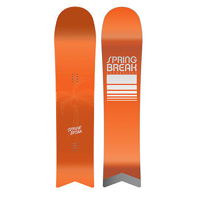 Capita X Spring Break Slush Slasher Men's Powder Snowboard 2017 Size: 151cm