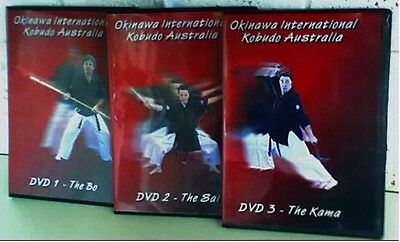 Kobudo Dvd Set