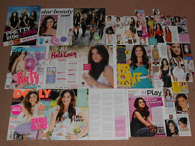 35+ LUCY HALE Magazine Clippings