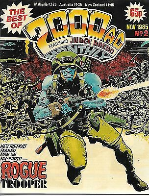 Best of 2000 AD Monthly #2 (1985) Rogue Trooper/Dredd/Strontium Dog/Moore shorts