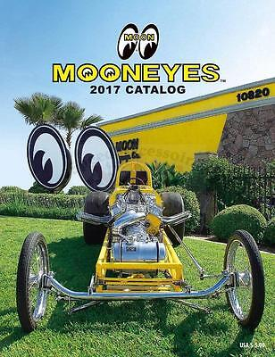 MOONEYES Katalog 2017 Mr. Horsepower Rat Fink Clay Smith Cams Moon Equipped