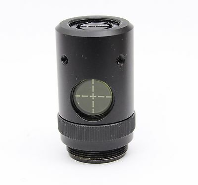 Fluorescence Centering Microscope Objective RMS